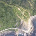 Envivo_Land_Surveyors_Kaikoura_earthquake_aerial_view_coast_road