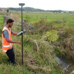 Envivo_Auckland_Flood_Surveying_Salil_in_action