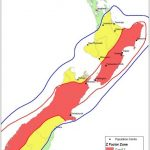 NZ seismic risk map