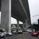 Newmarket viaduct view September 2018