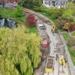Avon Loop asphalt removal credit: Ōtākaro Limited