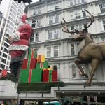 Santa Claus on Queen Street installation